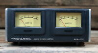 Realistic: Stereo Audio Power Meter - Model APM-100