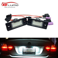 Led License Plate Light For VW Touareg Tiguan Passat(B5.5) 5D  Porsche Cayenne