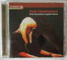 """TOM CONSTANTEN """"DEEP EXPRESSIONS, LONGTIME KNOWN"""" CD - BRAND NEW - GRATEFUL DEAD"""