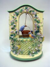 """Lenox Summer Greetings Wishing Well Fountain #610-4962 - Not Working """"As Is"""""""