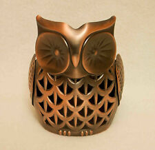 Bath & Body Works Bronze Owl Soap / Lotion Holder New