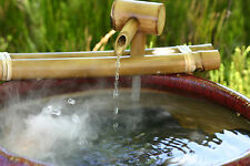 "Bamboo Accents Fountain 12"" Classic Water Fountain & Pump Kit Indoor Outdoor"