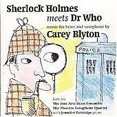 Carey Blyton - Sherlock Holmes Meets Doctor Who Music for Brass... (1999)