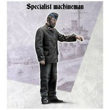 Scale 75 War Front U-Boat Specialist Machineman WW2 1/35th Unpainted Resin Kit