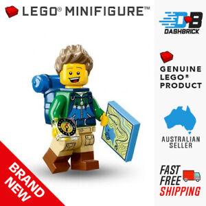 Genuine LEGO® Minifigures - Hiker - #6, Series 16 Minifigure - BRAND NEW