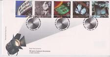 Risolte GB Royal mail FDC 1996 FOTO CINEMA Stamp Set Bureau PMK