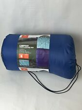 NEW Youth Sleeping Bag OZARK TRAIL CAMPOUT Blue