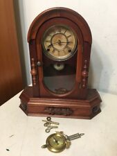 Antique Gilbert Parlor Or Kitchen Shelf Clock Rare Model Unique