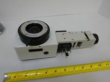 MICROSCOPE PART LEITZ GERMANY AF VERTICAL ILLUMINATOR 563529 AS IS BIN#L6-80
