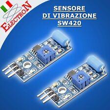 MODULO SENSORE DI VIBRAZIONE TILT SW420 Vibration sensor ARDUINO PIC LM393 420