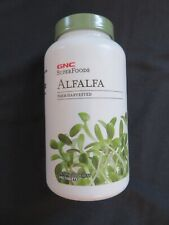 GNC Super Foods Alfalfa Farm Harvested 480 Tablets @5