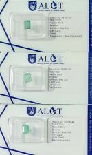 3 Natural Emeralds 0.86 ct., 0.88 ct. & 1.11 ct. - 3 ALGT Reports and sealed