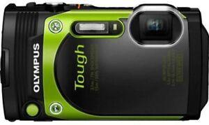 [EXC++++] Olympus Stylus TOUGH TG-870 5X 16MP Digital Camera from JAPAN  N085-2