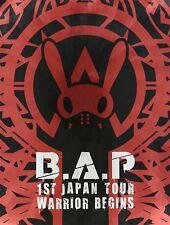 B.A.P 1ST TOUR LIVE DVD WARRIOR Begins Limited Edition W/Photobook JP NEW
