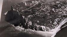 "ANCIENNE PHOTO AÉRIENNE de ROGER HENRARD  1954 "" FÉCAMP "" -"