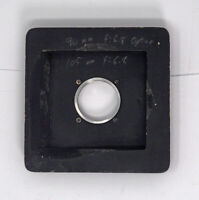 Deardorff Special 4X5/5X7 Lens Board For Wide Angle Lenses #0 Shutters