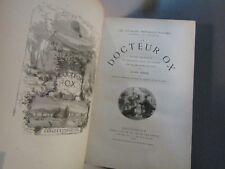 JULES VERNE -LE TOUR DU MONDE EN QUATRE VINGTS JOURS- Relié-1874-ILLUSTRÉ
