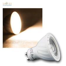 Paquete De 5 GU10 lámpara LED COB 7W blanco cálido 540lm regulable