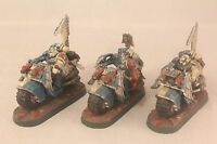 Warhammer Space Marine Bikers Well Painted