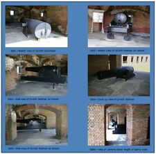 Postcards of Contemporary Photographs of Fort Zachary Taylor - Set 3 of 3
