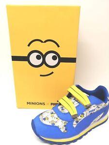 Kid's Puma Minions ST Runner V Sneaker UK Size 1.5 Last Pair