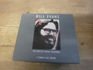 Bill Evans – The Complete Fantasy Recordings 9 CD Box Set, Germany 1989