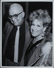 George Christy (Reporter), Bette Midler ORIGINAL PHOTO HOLLYWOOD Candid 2645