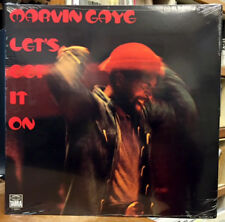 MARVIN GAYE Let's Get It On LP SEALED SOUL FUNK VINYL GATEFOLD REISSUE TAMLA