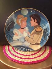 Bradford Exchange Porcelain Plates The Crown Jewels of Disney set of 2 COA