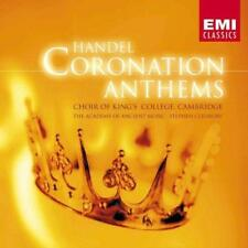 Choir Of King's College, Cambr - Handel Coronation Anthems (NEW CD)