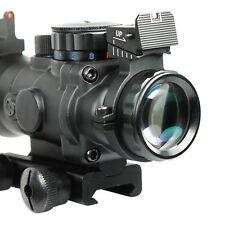 4x32 Acog Riflescope 20mm Dovetail Reflex Optics Scope Tactical Sight F Hunting