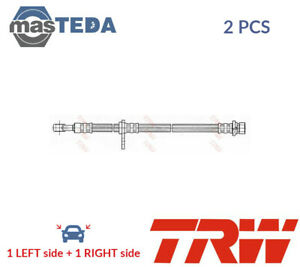 2x TRW FRONT BRAKE HOSE LINE PIPE PHD593 P NEW OE REPLACEMENT