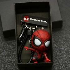 Marvel Avengers Spider Man Car Keychain Hero Bag Pendant Keyring Waist Hanging