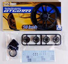 """Aoshima 1/24 Enkei GTC01RR 19"""" Wheel & Tire For Plastic Models 5331 (36)"""