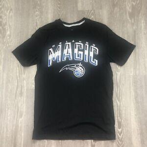 Orlando Magic Primary Logo T-Shirt - Black Size Small