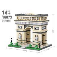 Triumphal Arch  Architecture Building Blocks Model Assembling Toys Kids