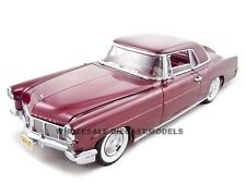 1956 LINCOLN CONTINENTAL MARK 2 BURGUNDY 1:18 DIECAST BY ROAD SIGNATURE 20078