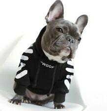 Bulldog Clothes Dog Hoodie Pet Clothes Warm Sport Retro Dog Pugs Puppy Clothes