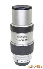 SMC Pentax FA 80-320mm 1:4,5-5,6 * TOP * Digital * K Bajonett * KP * K-50 * K-5