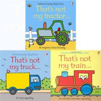 Thats Not My Series 2 :3 Books bundle Collection Set Fiona Watt tractor truck