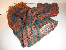 SCALA silk pashmina Scarf shawl Neck Wrap NEW 2X6 FT