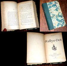 Rallye-Dot 1888 Mustel roman moral monde hippique
