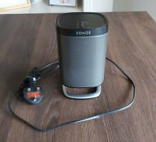 Sonos Play:1 Compact Wireless Smart Speaker with stand, Black, Boxed