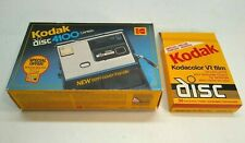 Kodak DISC 4100 Instamatic Camera w/ Original Box and 2 Film Cartridges