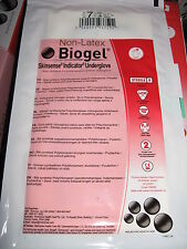 50 Pair Non-Latex Rubber Gloves Size 7.5 Biogel 40675-00