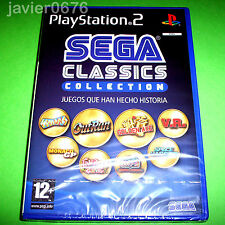SEGA CLASSICS COLLECTION NUEVO Y PRECINTADO PAL ESPAÑA PLAYSTATION 2 PS2