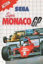 ## SEGA Master System - Super Monaco GP 1 - TOP / MS Spiel ##