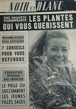 NOIR et BLANC No 1066 de 1965 TRAVAUX PARIS MOIS D AOUT / TENNIS BADMINGTON