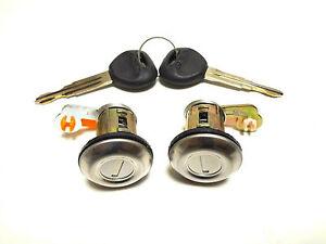 for MITSUBISHI L200 1995-2005 2 Door lock cylinder with 2 keys