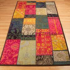 Technicolor Multi Colour Rugs - Patchwork